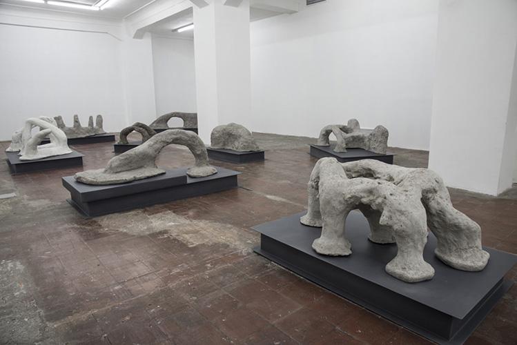 Vista exposición Tabla rasa, sala I, 2014