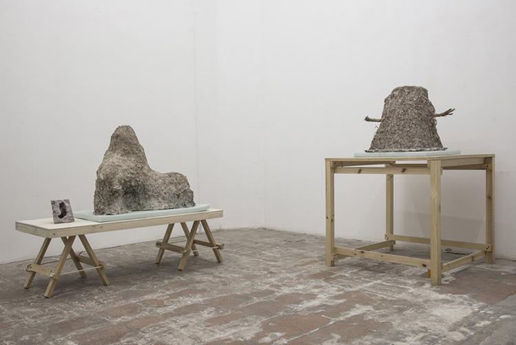 Vista exposición Tabla rasa, de la sala II, 2014