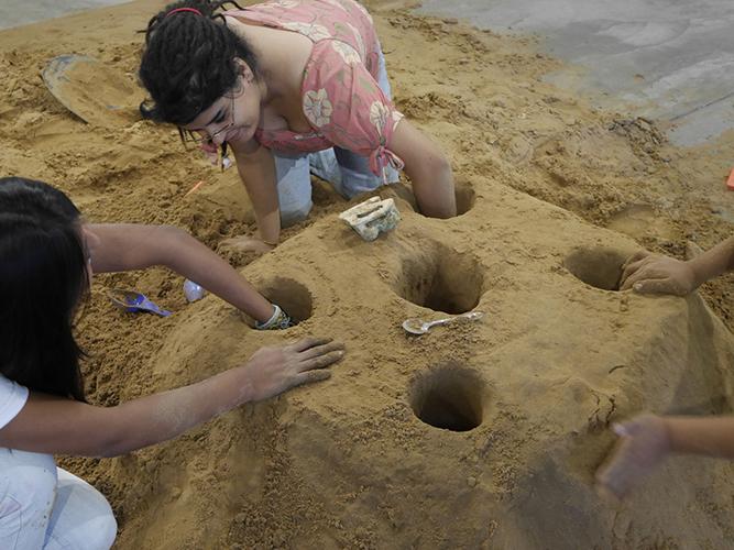 Excavación de túneles.