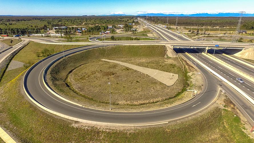 Lugar de emplazamiento, Enlace Calbuco, Ruta 5 sur, tramo Pto. Montt – Pargua.